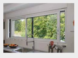 Besoin d'une fenêtre coulissante pour la cuisine? Demandez à Tryba!